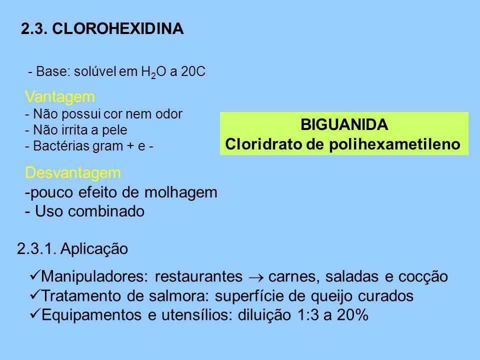 Cloridrato de polihexametileno