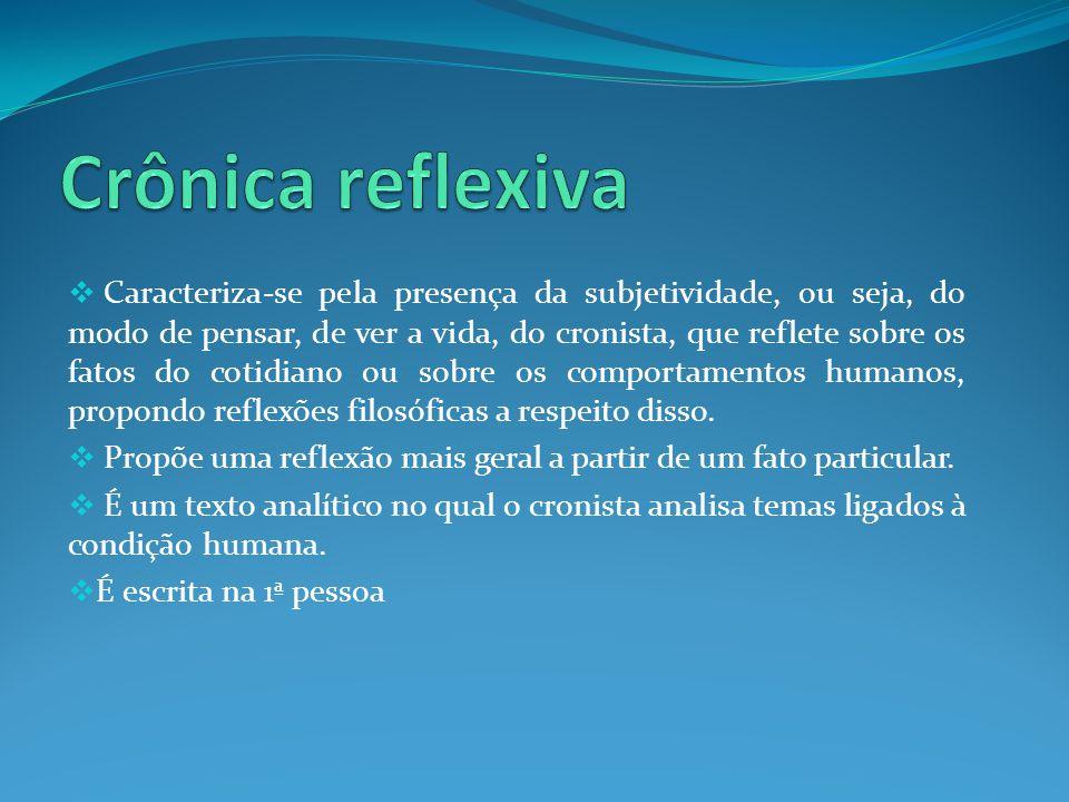 Crônica reflexiva