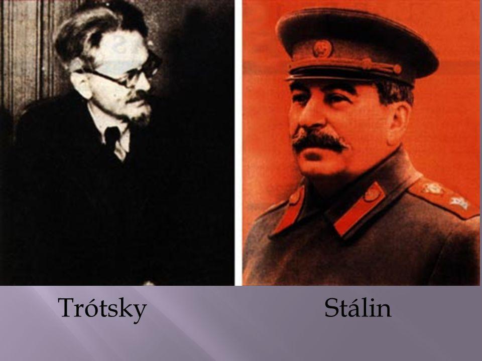 Trótsky Stálin