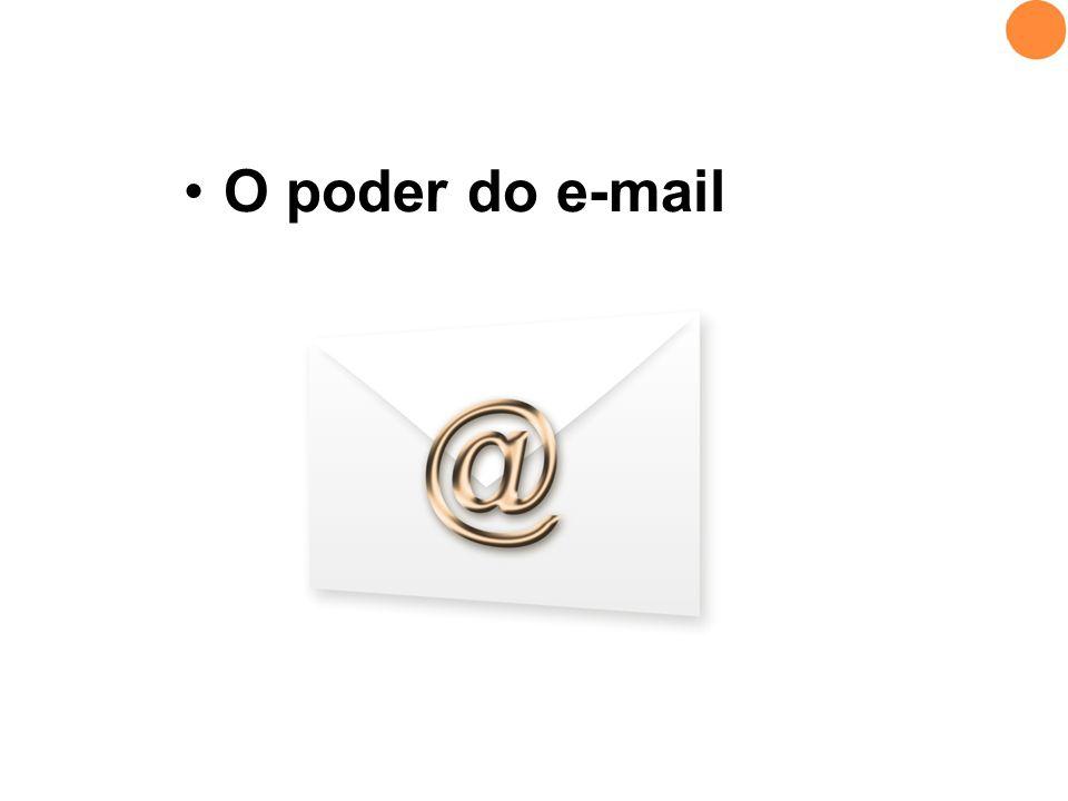 O poder do e-mail