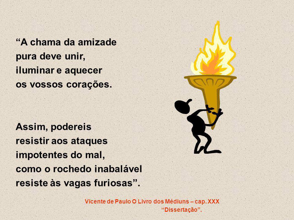 Vicente de Paulo O Livro dos Médiuns – cap. XXX