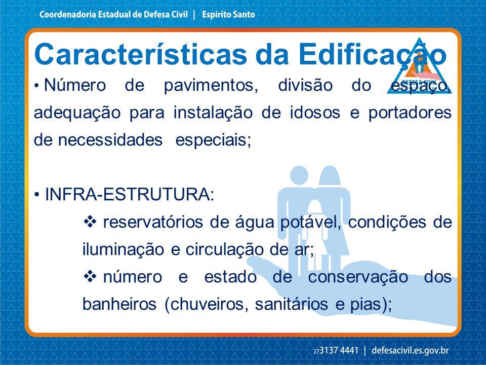 Características da Edificação