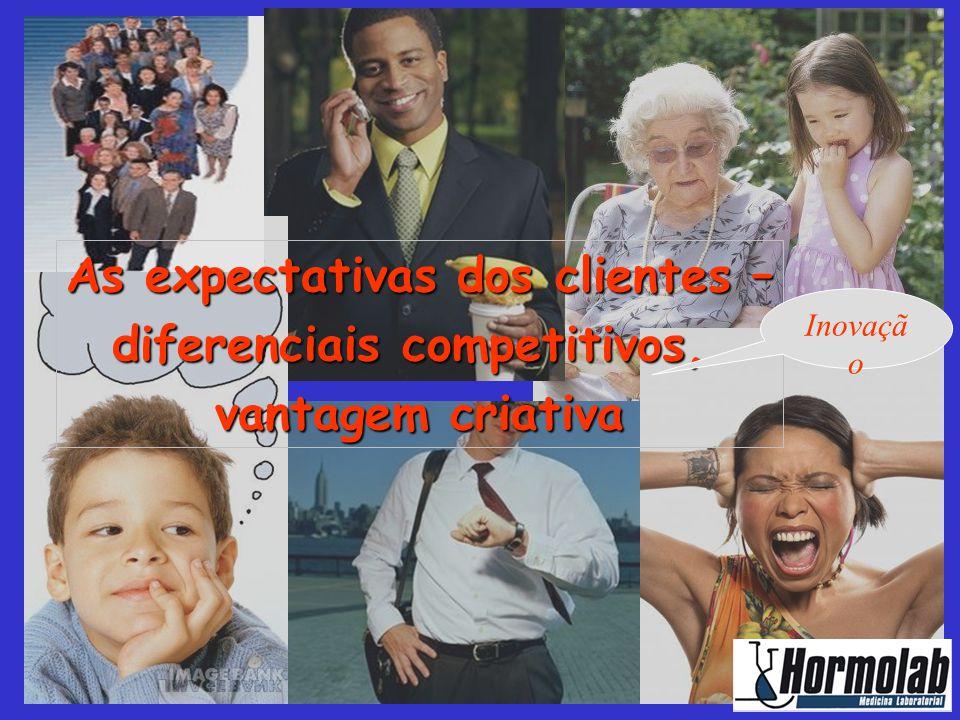 As expectativas dos clientes – diferenciais competitivos,