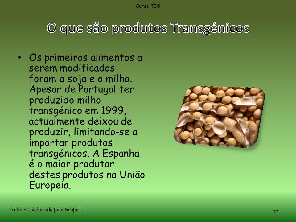 O que são produtos Transgénicos