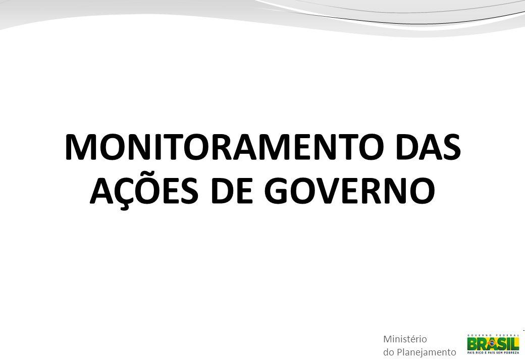 MONITORAMENTO DAS AÇÕES DE GOVERNO