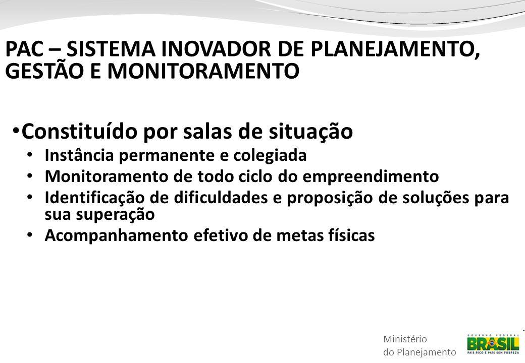 PAC – SISTEMA INOVADOR DE PLANEJAMENTO, GESTÃO E MONITORAMENTO