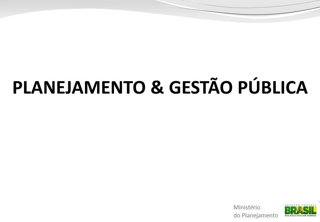 PLANEJAMENTO & GESTÃO PÚBLICA