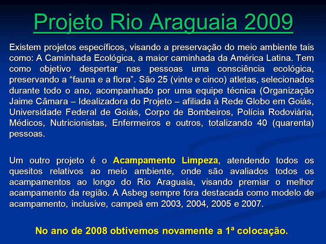 No ano de 2008 obtivemos novamente a 1ª colocação.