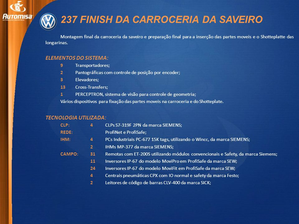 237 FINISH DA CARROCERIA DA SAVEIRO