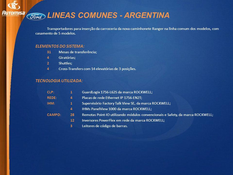 LINEAS COMUNES - ARGENTINA