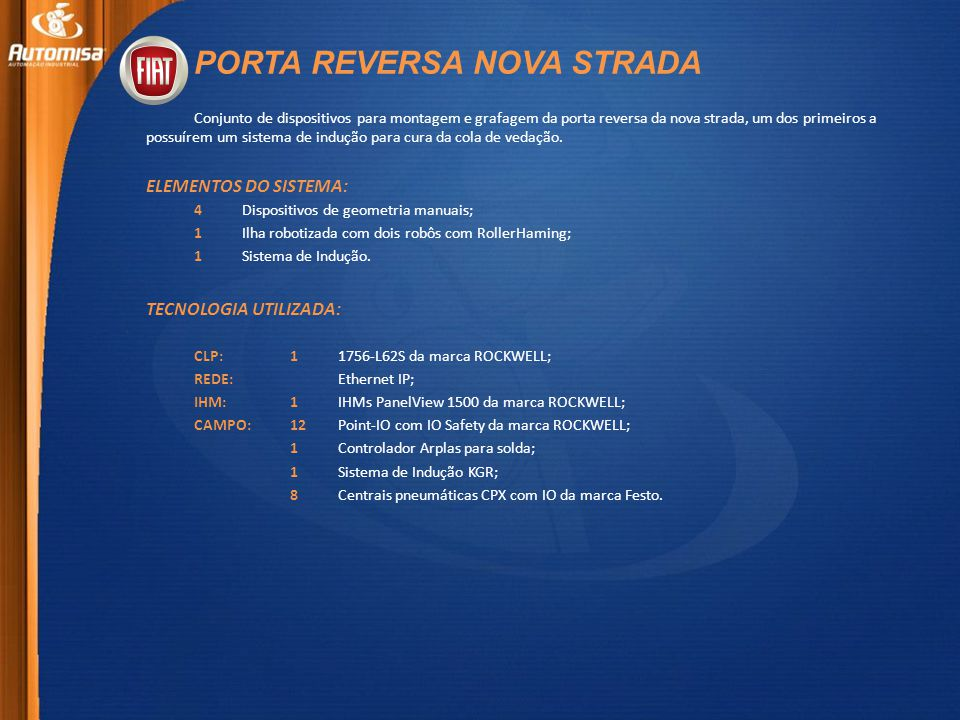 PORTA REVERSA NOVA STRADA