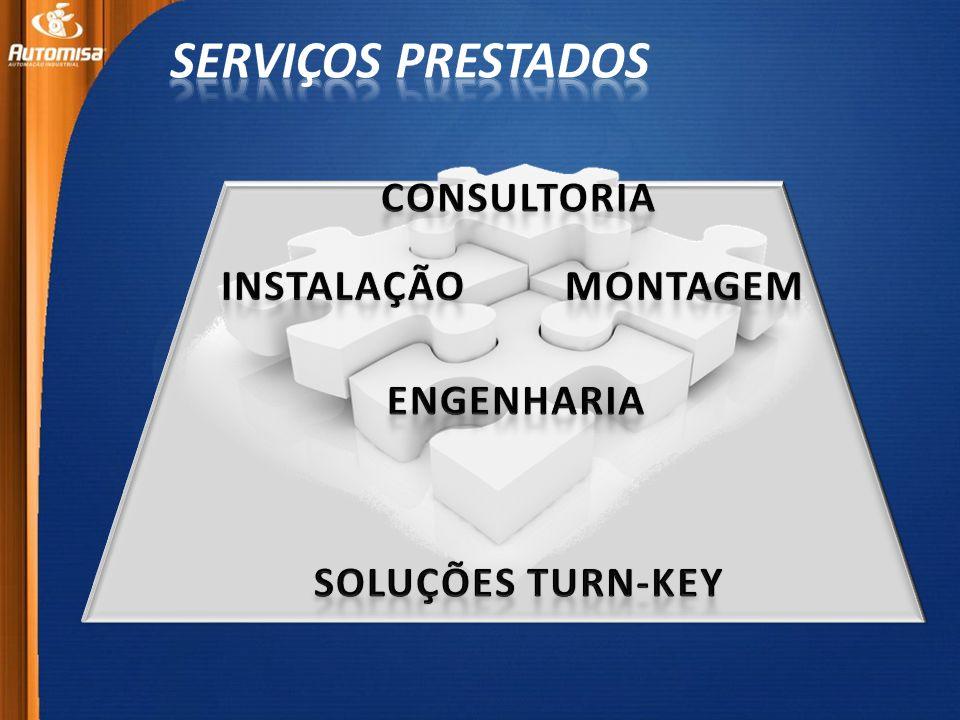 SERVIÇOS PRESTADOS CONSULTORIA INSTALAÇÃO MONTAGEM ENGENHARIA