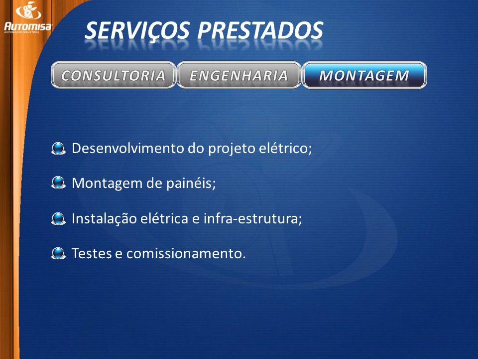SERVIÇOS PRESTADOS CONSULTORIA ENGENHARIA MONTAGEM