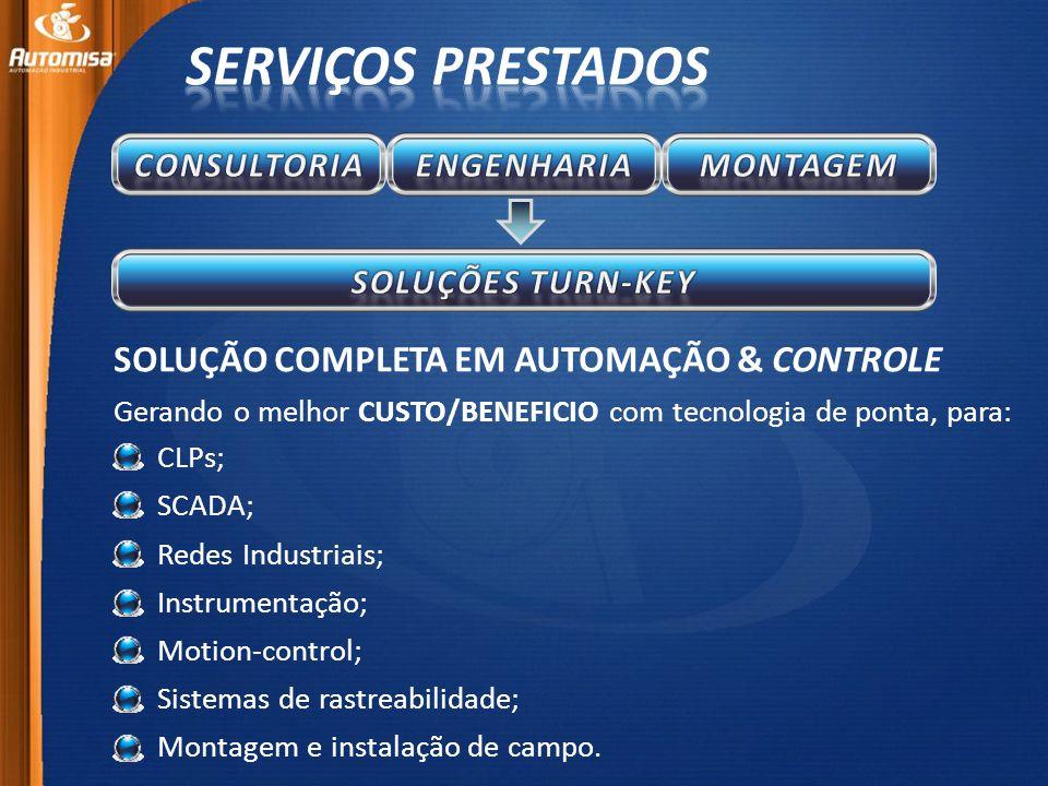 SOLUÇÃO COMPLETA EM AUTOMAÇÃO & CONTROLE