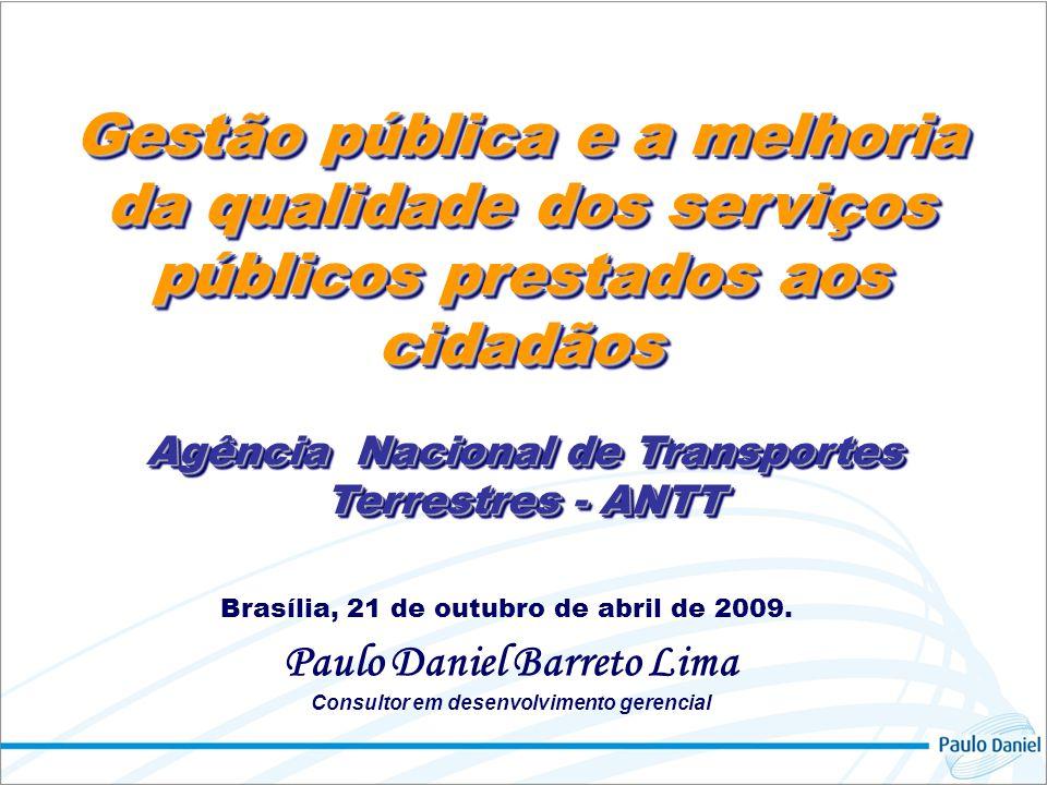 Gestão pública e a melhoria da qualidade dos serviços públicos prestados aos cidadãos