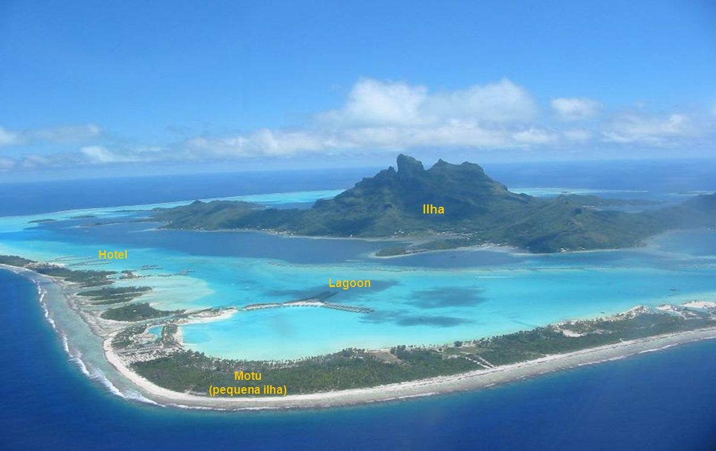 Ilha Hotel Lagoon Motu (pequena ilha)