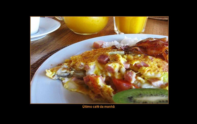 Último café da manhã