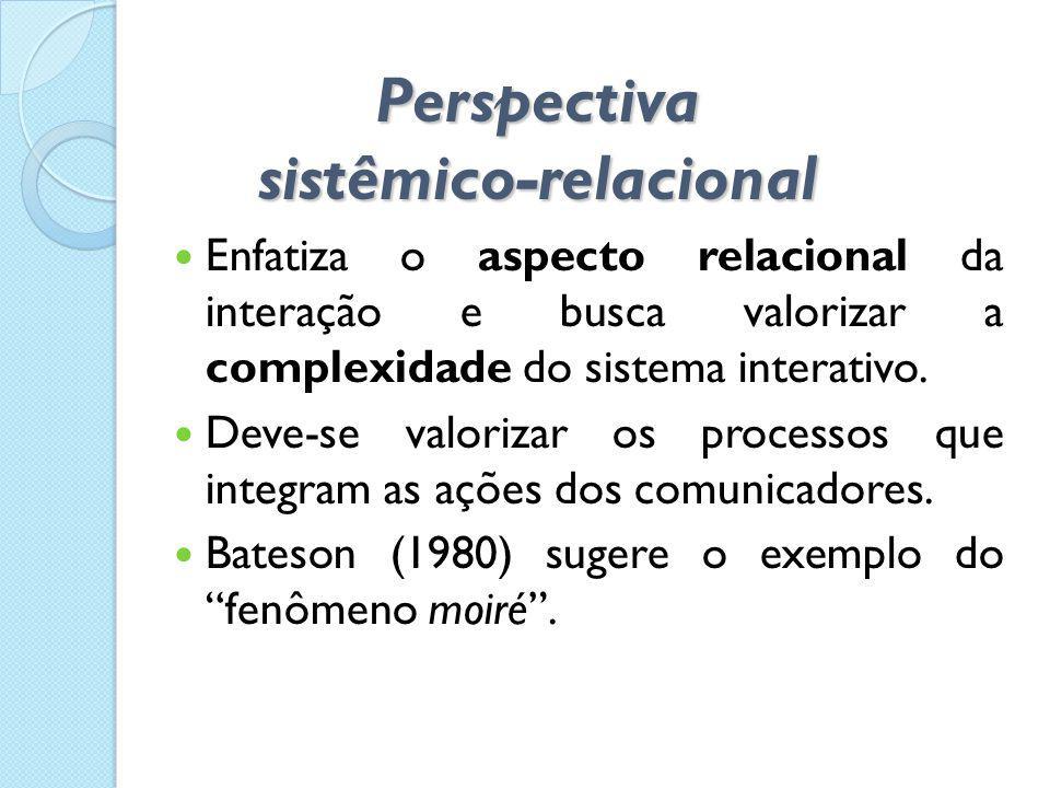 Perspectiva sistêmico-relacional