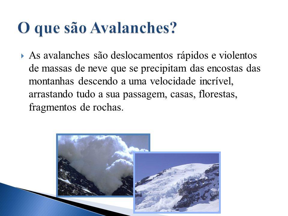 O que são Avalanches