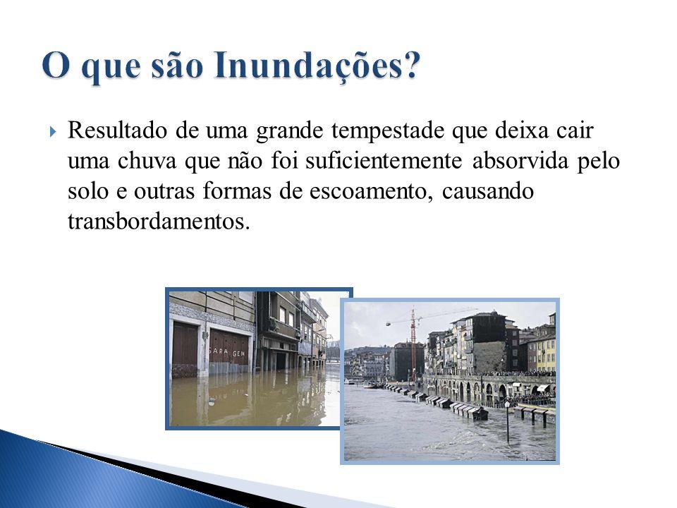 O que são Inundações