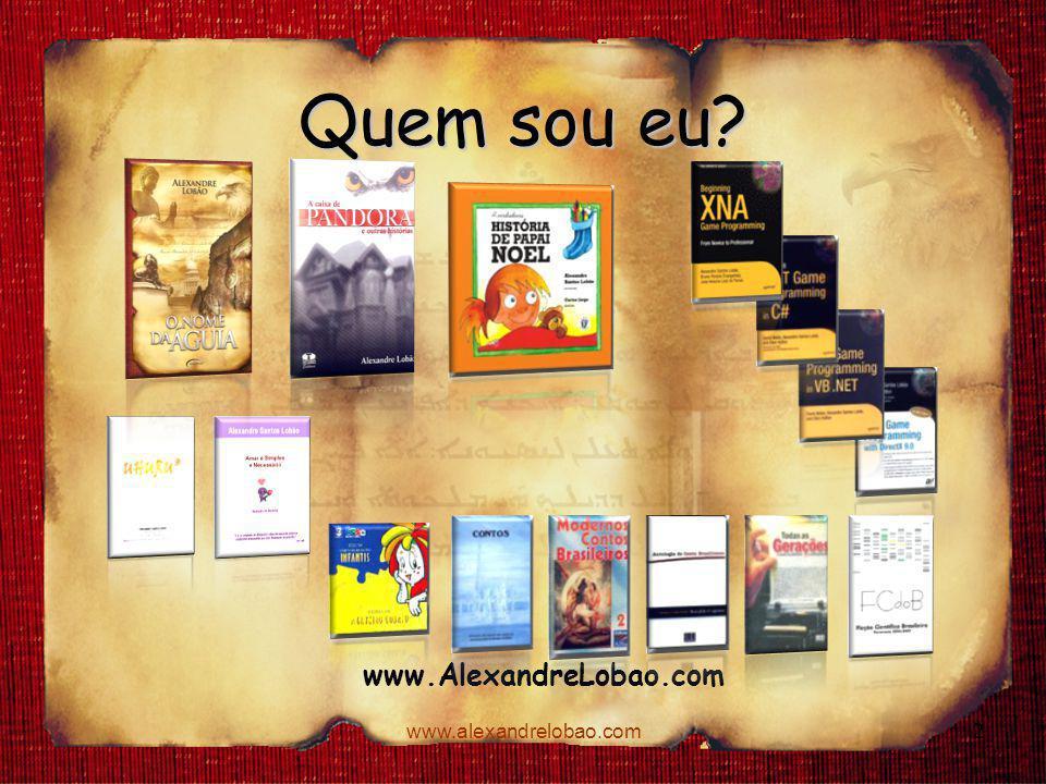 Quem sou eu www.AlexandreLobao.com www.alexandrelobao.com