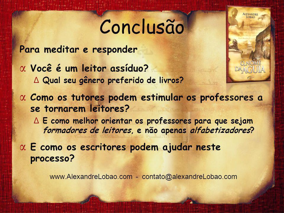 www.AlexandreLobao.com - contato@alexandreLobao.com