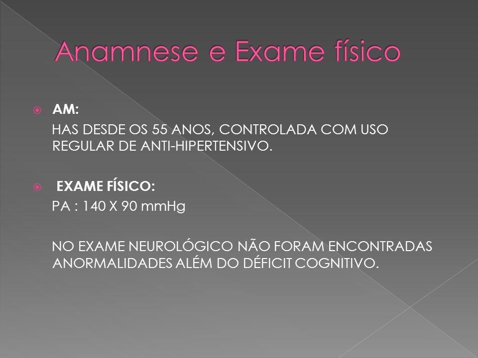 Anamnese e Exame físico