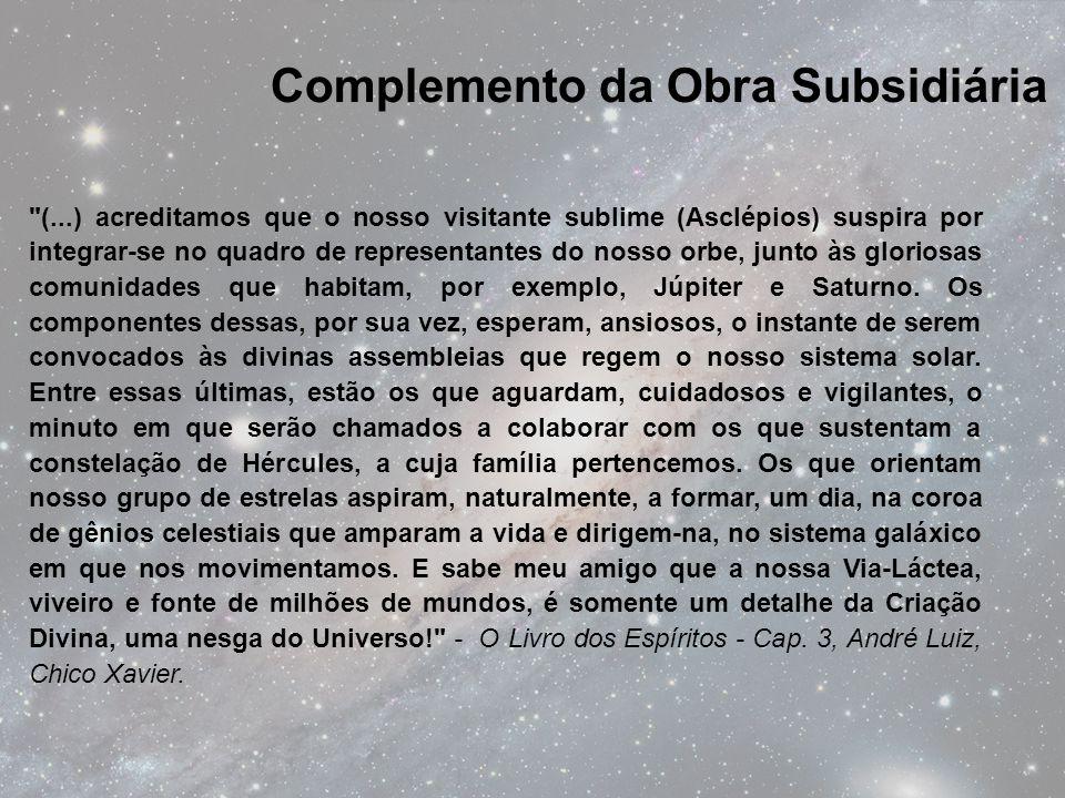 Complemento da Obra Subsidiária