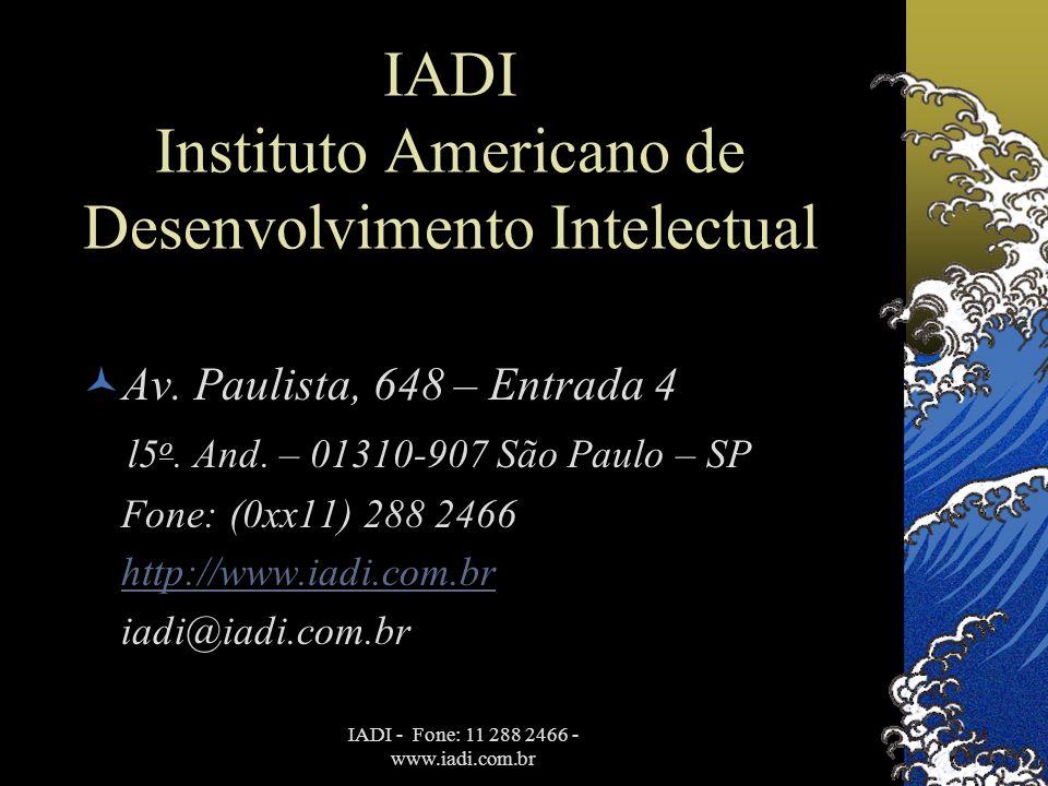 IADI Instituto Americano de Desenvolvimento Intelectual