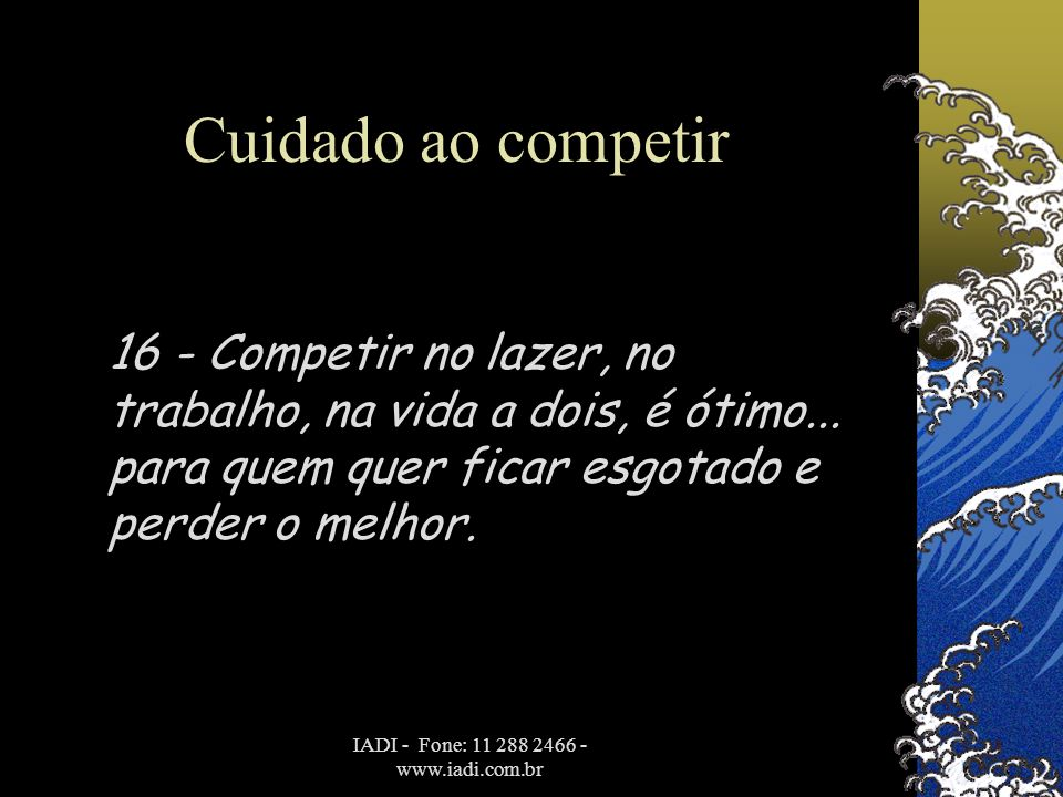 IADI - Fone: 11 288 2466 - www.iadi.com.br