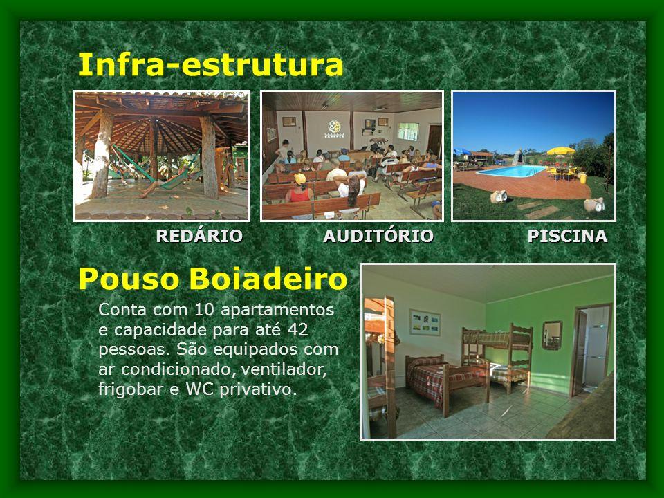 Infra-estrutura Pouso Boiadeiro REDÁRIO AUDITÓRIO PISCINA