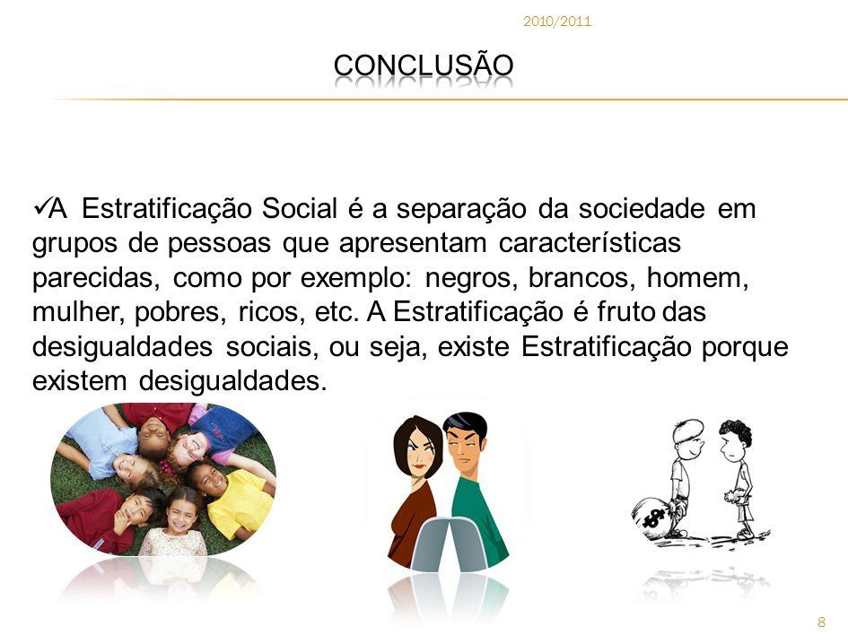 2010/2011 CONCLUSÃO.