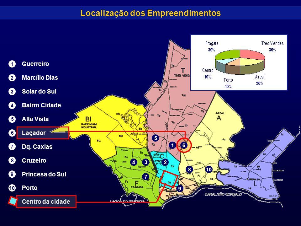 Localização dos Empreendimentos