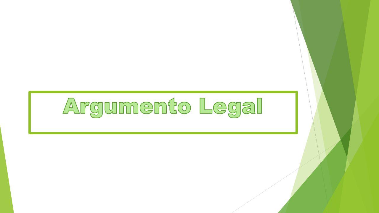 Argumento Legal