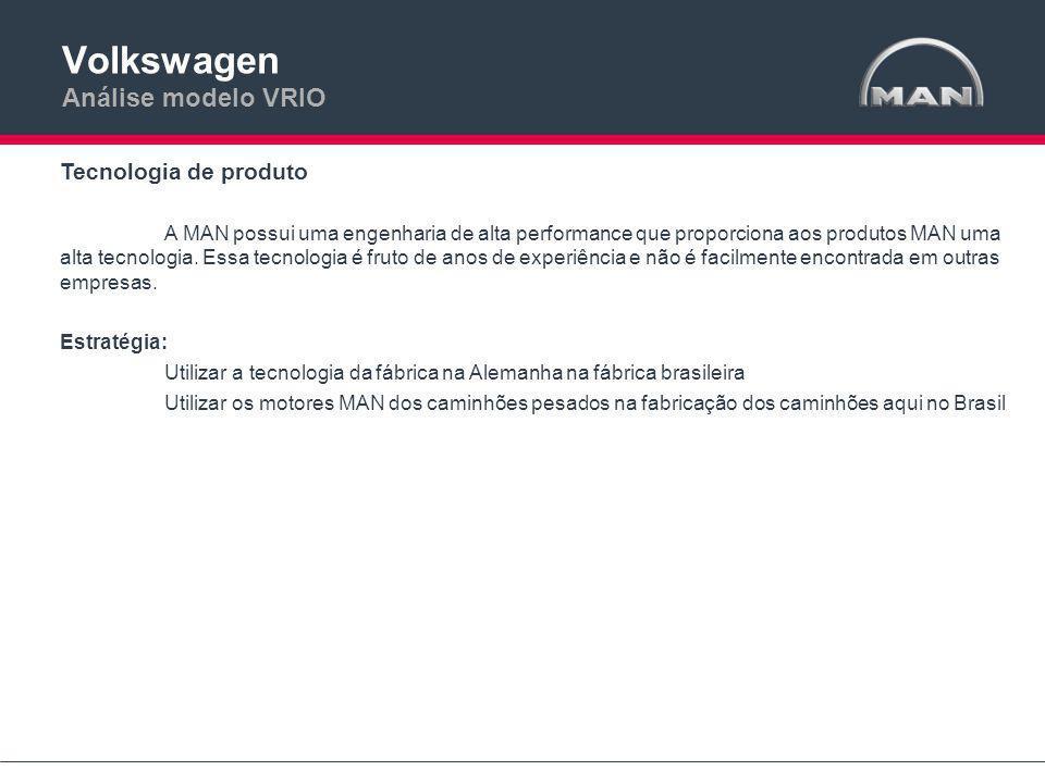 Volkswagen Análise modelo VRIO