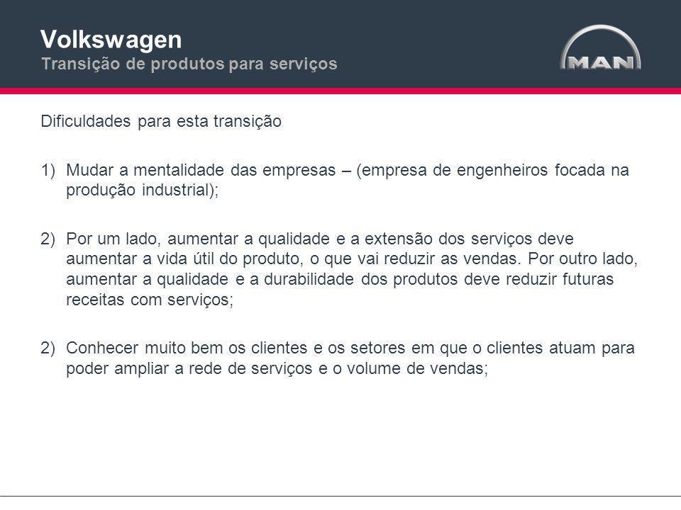 Volkswagen Transição de produtos para serviços