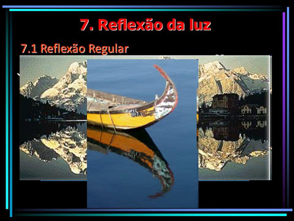 7. Reflexão da luz 7.1 Reflexão Regular RR RI