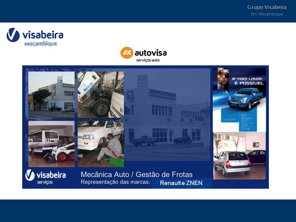 Grupo Visabeira Em Moçambique Renault e ZNEN