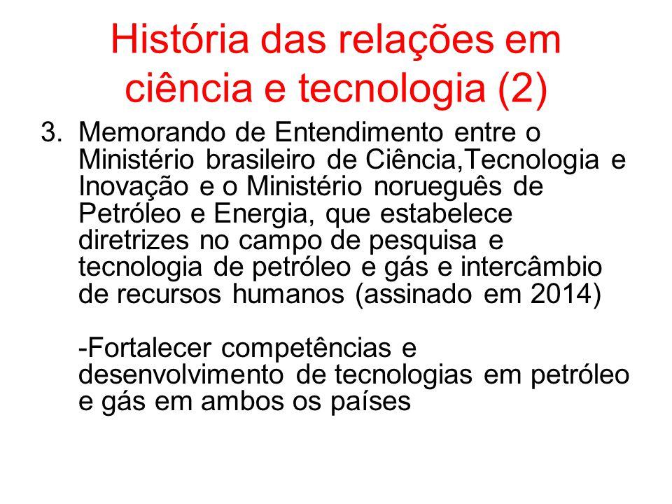 História das relações em ciência e tecnologia (2)
