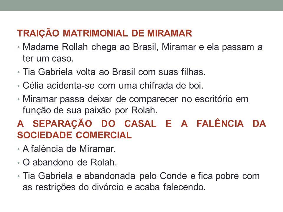 TRAIÇÃO MATRIMONIAL DE MIRAMAR
