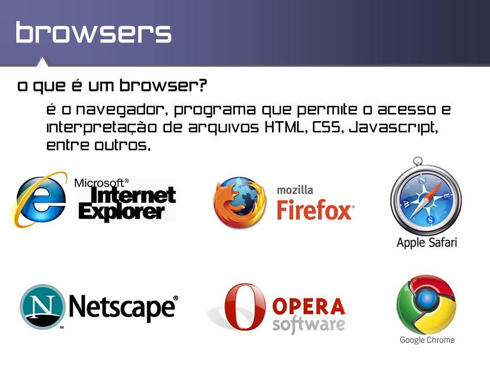 browsers o que é um browser