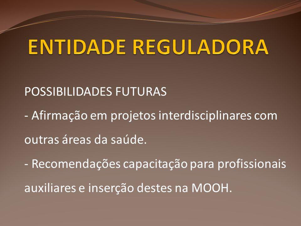 ENTIDADE REGULADORA POSSIBILIDADES FUTURAS