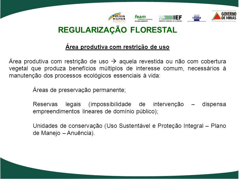 REGULARIZAÇÃO FLORESTAL