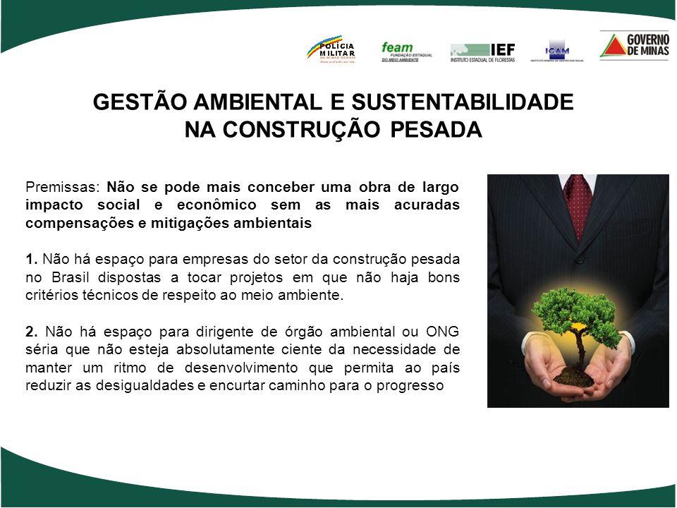 GESTÃO AMBIENTAL E SUSTENTABILIDADE NA CONSTRUÇÃO PESADA