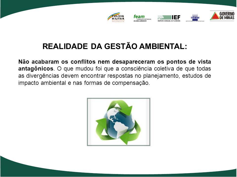 REALIDADE DA GESTÃO AMBIENTAL: