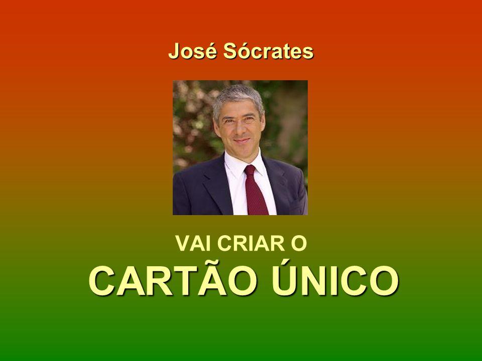 José Sócrates VAI CRIAR O