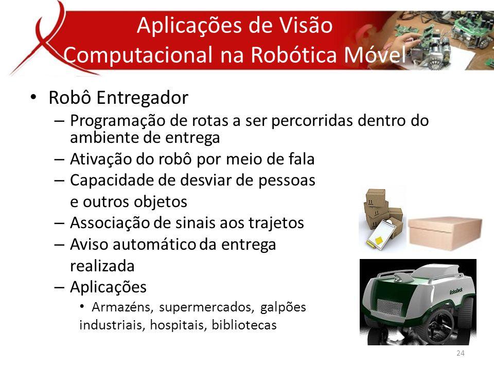 Aplicações de Visão Computacional na Robótica Móvel