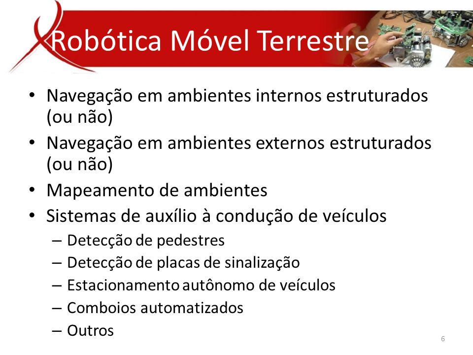Robótica Móvel Terrestre