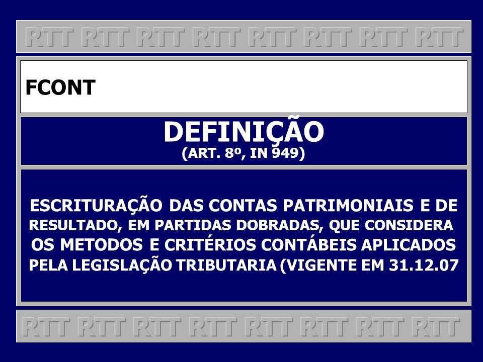 DEFINIÇÃO RTT RTT RTT RTT RTT RTT RTT RTT