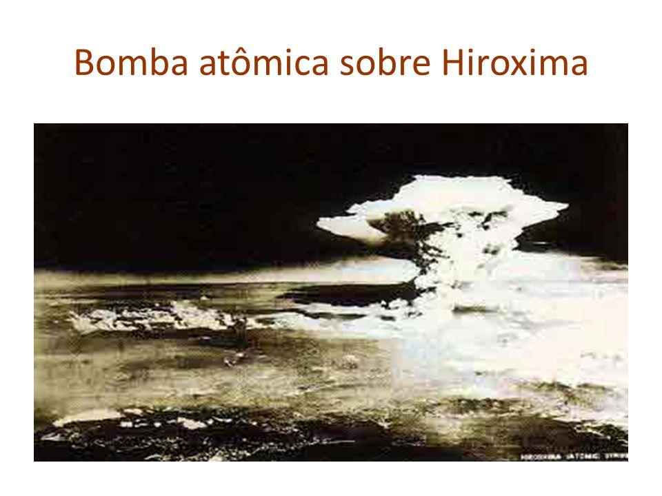 Bomba atômica sobre Hiroxima